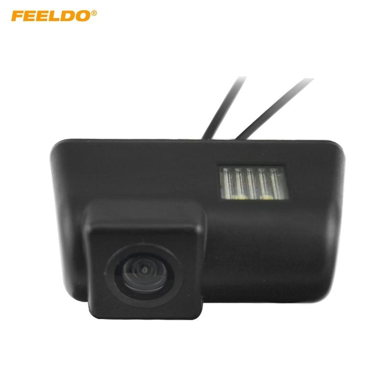 FEELDO 1 компл. Водонепроницаемый Специальный вид сзади автомобиля Камера для Ford Transit Connect Ван Обратный Парковка Камера