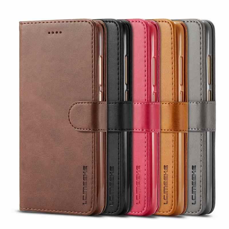 Fundas plegables lisas de lujo para Xiaomi Redmi Note 4 4X bolsas de teléfono de cuero magnético para Xiaomi Redmi Note4 Note4x funda de cartera