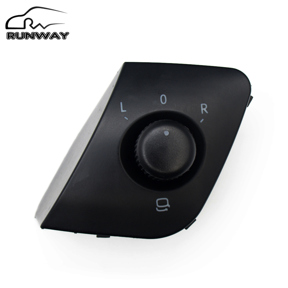 tearful sale new high quility adjust knob side mirror switch for seat ibiza oe 6j1 959 565. Black Bedroom Furniture Sets. Home Design Ideas