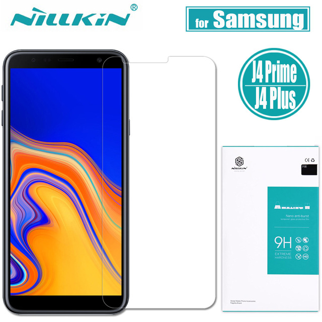 Nillkin Tempered Glass For Samsung Galaxy J4+ J4 Plus J4Prime 6.0 Amazing H Screen ProtectorProtective Film