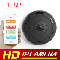 1 3MP V380 HD 1920 1080P VR WIFI IP Camera Support Max 128G TF Card P2P