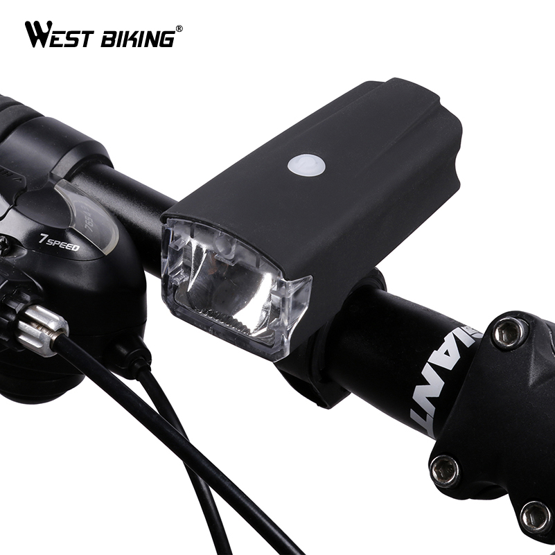 WEST BIKING LED Bike Bicycle Front Headlight USB Rechargeable Bike Bicycle Light Road MTB Cycling Torch Headlamp Bike LED Lights lumiparty 4000lm headlight cree t6 led head lamp headlamp linterna torch led flashlights biking fishing torch for 18650 battery