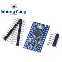 Pro mini Atmega328P Pro Mini 328 Mini ATMEGA328 3,3 В, 8 МГц, 5 В, 16 МГц, Ch340g CP2102 FT232RL драйвер для Arduino, совместимый с Nano