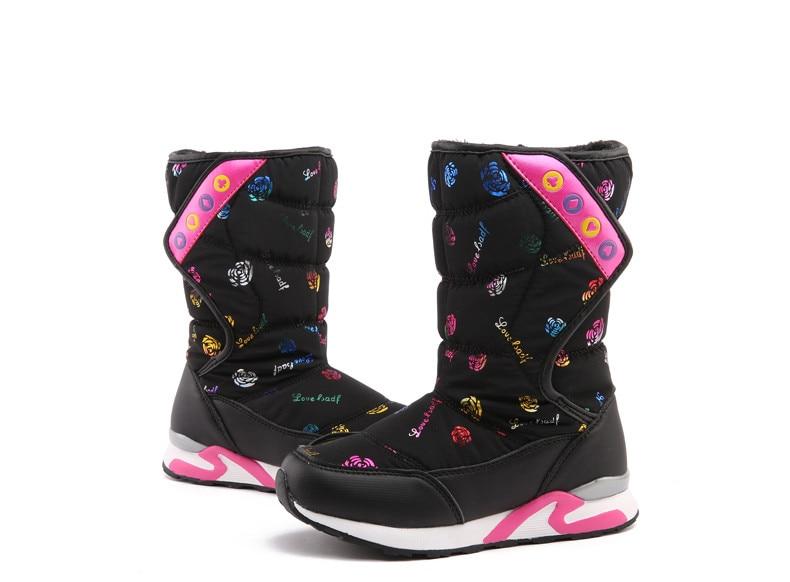 2017 new waterproof winter snow boots warm winter boots children s shoes boots children s cotton