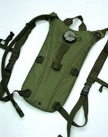 US Airsoft 3L Hydration Water Backpack Reservoir OD Bag Free Ship