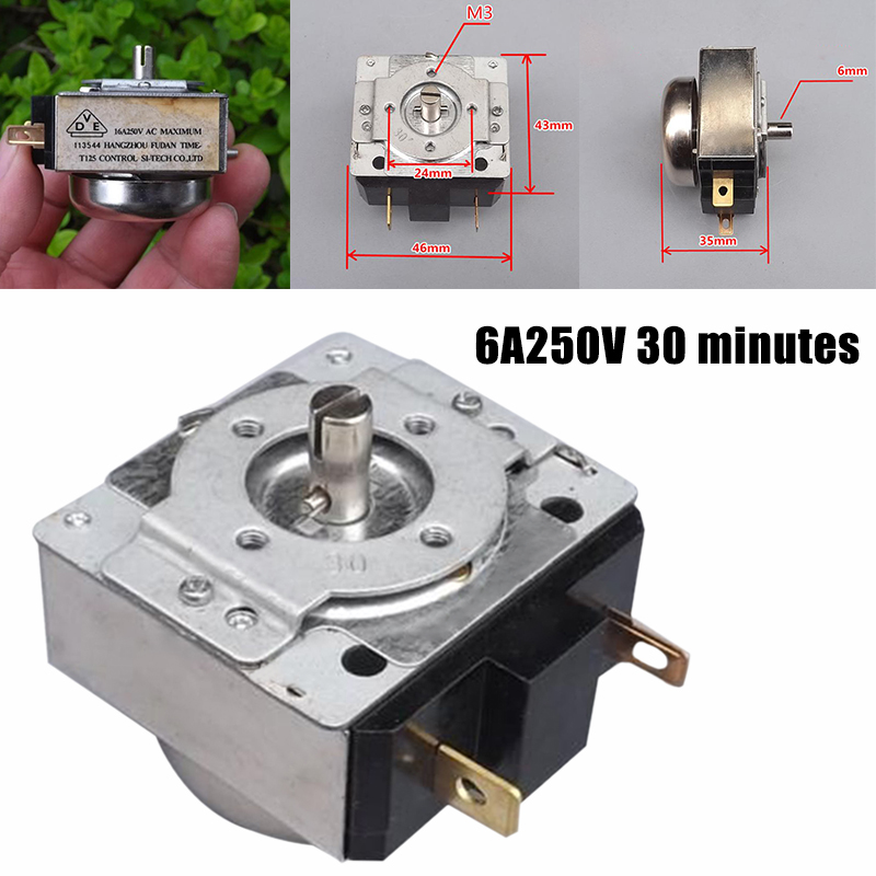 30 Minutes Delay Timer Electric Pressure Cooker Timer Mechanical Rice Cooker Time Switch for Electronic Microwave Oven Cooker(China)