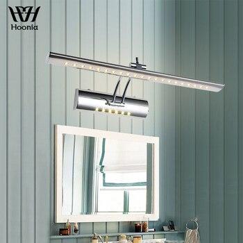 משלוח חינם מובטח 100% באיכות גבוהה 7W LED קיר אור AC220V מודרני קצר רחצה LED מירור אור