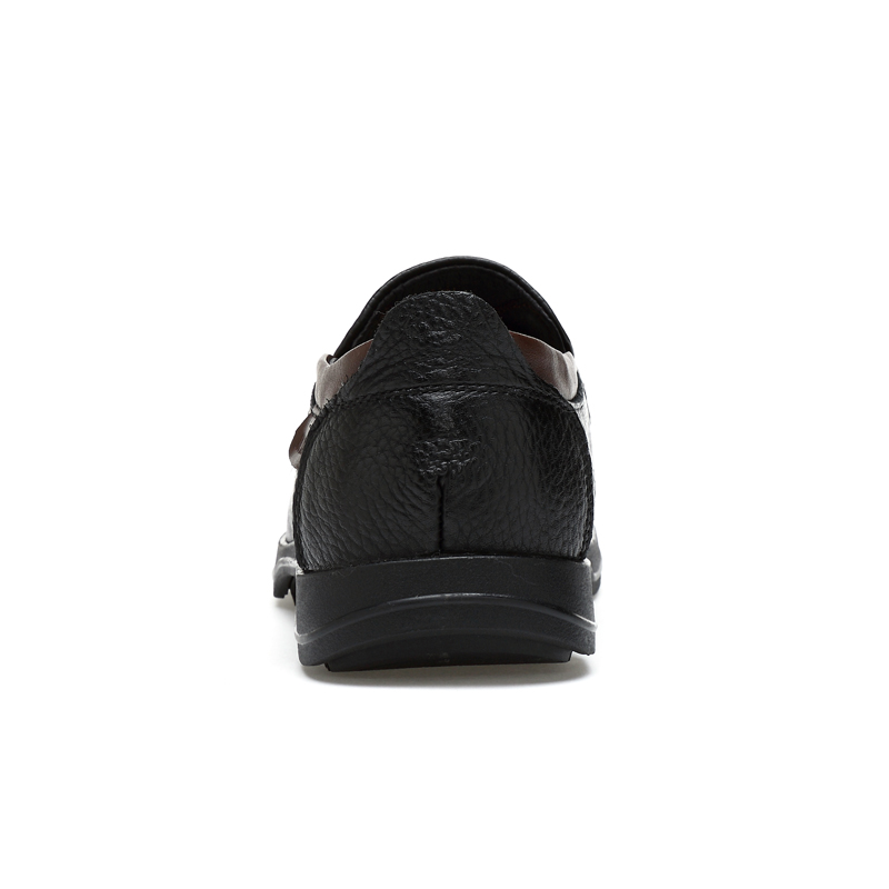 CLAX الرجال أسود اللباس أحذية 2019 الخريف أحذية من الجلد جلد طبيعي تجارية (سابقا) الرسمي أحذية الزفاف الأحذية الفاخرة العلامة التجارية-في أحذية رسمية من أحذية على  مجموعة 3
