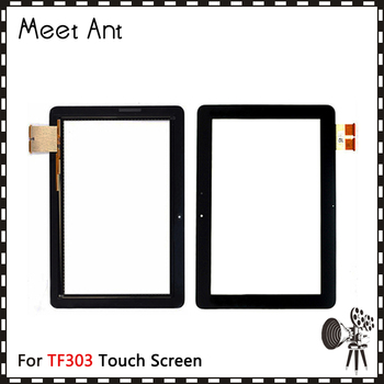 """10Pcs/lot High Quality 10.1"""" For Asus Transformer Pad TF303 TF303K Touch Screen Digitizer Sensor Front Outer Glass Lens Panel"""