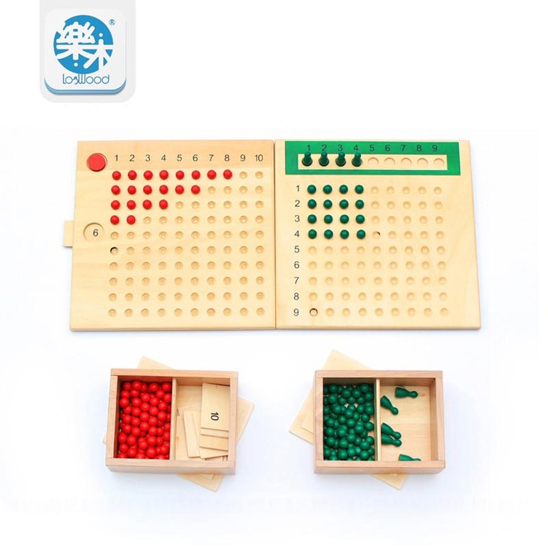 Jouets éducatifs Multiplication et Division perle conseil bois jouets apprentissage mathématiques éducation préscolaire formation jouets enfants jouet oyuncak