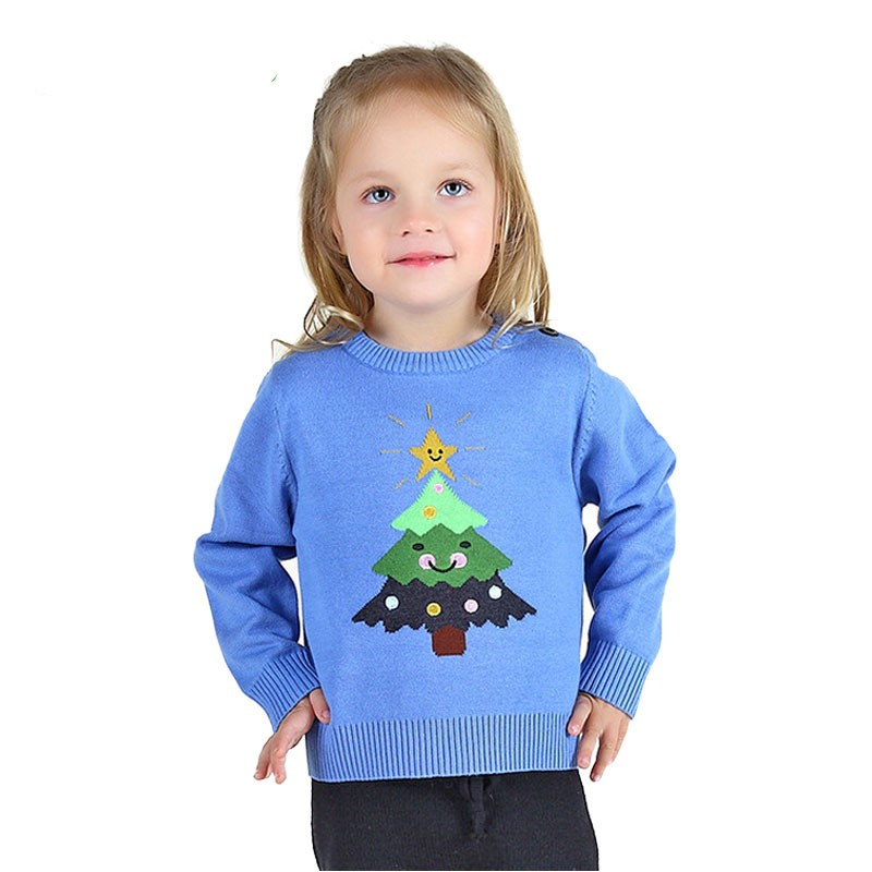 Fashion-Children-sweater-Christmas-tree-Kids-winter-clothing-Knitting-baby-outerwear-Girls-And-Boys (3)_