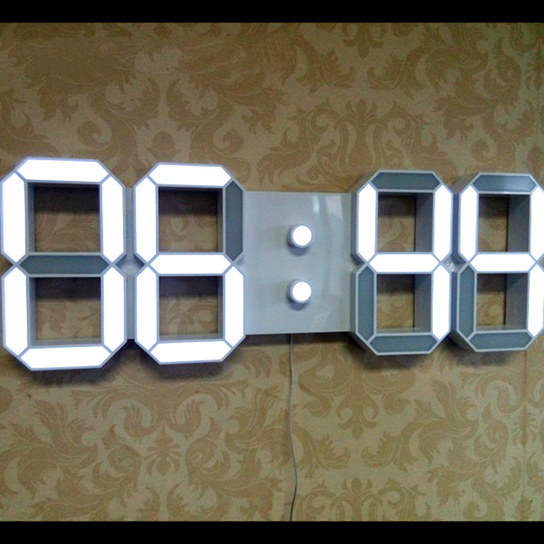 Large modern design digital led wall clocks big creative vintage large modern design digital led wall clocks big creative vintage watch home decoration decor 3d gift optional plug in wall clocks from home garden on amipublicfo Choice Image