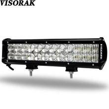 VISORAK 5D LED Work Light Bar 12 Inch 120W LED Light Bar Dual Row Combo LED Bar for Tractor Boat OffRoad 4WD 4×4 Truck SUV ATV