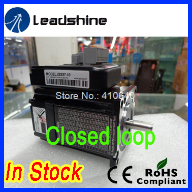 Leadshine  ISS57-10 closed loop stepper hybrid servo with 1 N.m torque 3.5A  rated phase current  FREE SHIPPING nema23 3phase closed loop motor hybrid servo drive hbs507 leadshine 18 50vdc new original