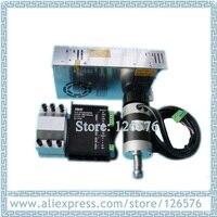 air cooled 500W Spindle Motor 48VDC Brushless spindle motor + Mount Braket Holder + 600w Power Supply + brushless spindle driver