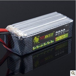 RC 18.5V 2800MAH 30C 5S Li-polymer Lipo Battery Helicopter+free shipping