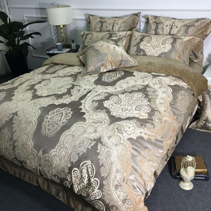 De lujo cubierta del edredón edredón cubierta de Viena ropa de cama funda de almohada todos los tamaños disponibles