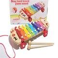 Best seller New Bebê Criança Instrumento Musical Xilofone Brinquedos De Madeira Sabedoria Desenvolvimento melhorar Garoto sensível a cores sons