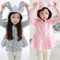 kids hoodies girl Rabbit shape cute Hoodies Spring tracksuit cotton sweatshirt children female sweat enfant 99