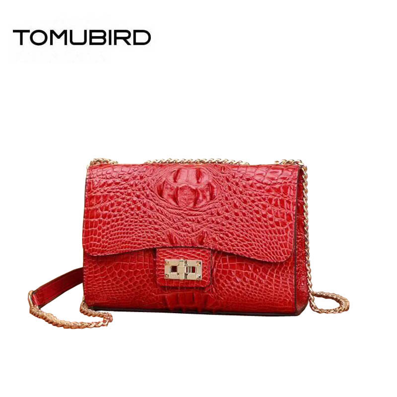 Women genuine Leather bags superior cowhide  bags for women 2019 Crocodile pattern Chain small bags handbags women famous brandsWomen genuine Leather bags superior cowhide  bags for women 2019 Crocodile pattern Chain small bags handbags women famous brands