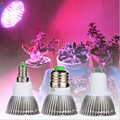 Full Spectrum LED Grow Light 18W E14/E27/GU10 Spotlight Lamp Bulb Flower Plant Greenhouse Hydroponics System AC85-265V Grow Box