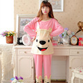 Breast Feeding Clothes For Pregnant Women Maternity Pajamas Clothing Pyjamas Suit Fashion Sleepwear cotton cartoon Nursing Set