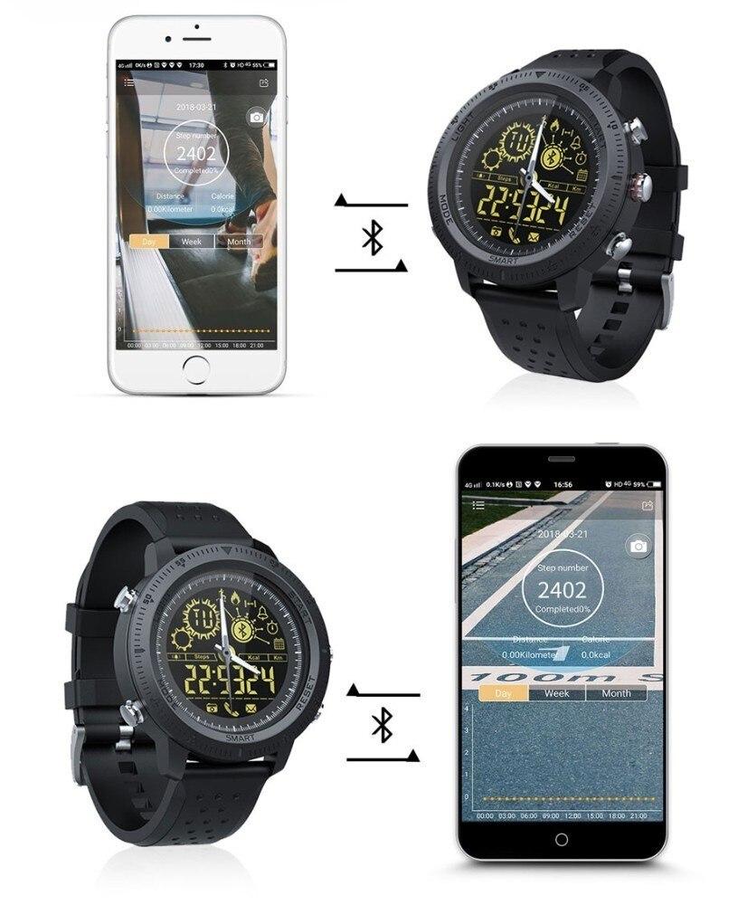 Montre Intelligente Passomètre Sport IP68 Étanche