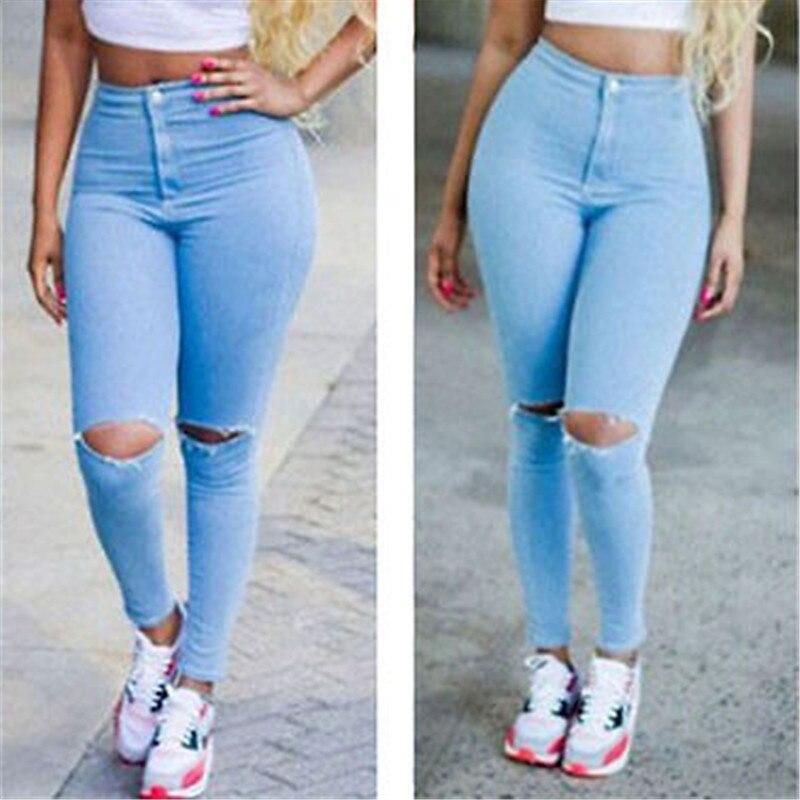 2039 Youaxon Womens Hot Curvy High Waist Stretchy Jean -6299