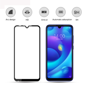 Image 5 - Protective Safety Glass For Xiaomi Mi Play Screen Protector On Xio Mi Play Tempered Glass Full Cover Glue Film Glas