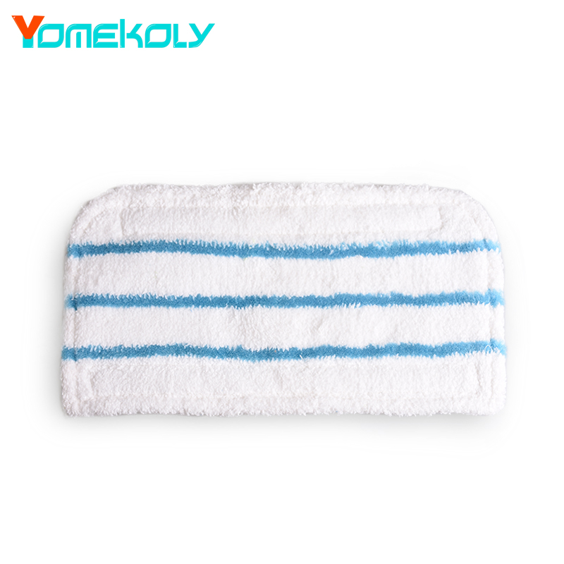 1pc Steam Mop Replacement Pad Mop Clean Washable Cloth Microfiber WASHABLE Mop Cloth cover For Black&Decker FSM1610/1630 steam mop pads for bissell powerfresh microfiber power steamer mop pad washable replacement for bissell mop pad 2pcs