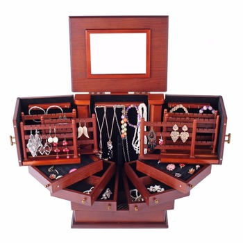 ROWLING Extra Large Wooden Jewelry Box