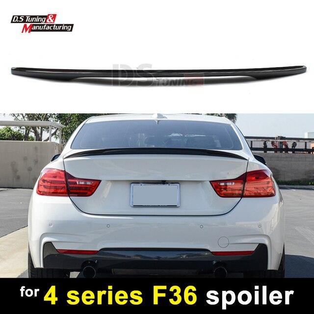 F M Performance Style Carbon Fiber Rear Spoiler For BMW Series - Bmw 4 door sedan