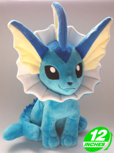 Fast Shipping Vaporeon 12 30cm Game Anime Figure Soft Plush Toy Doll