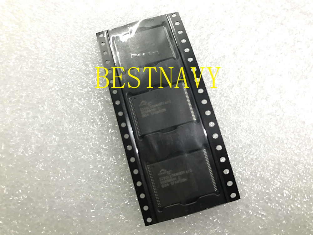 Kostenloser Versand Marke Neue Original S29gl256n10fa02 S29gl256n10tfa02 Bga Porsche Memory Chip 5 Teile/los GroßE Sorten Radio Tragbares Audio & Video