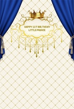 Laeacco Chic Curtain Wall Crown Birthday Party Girl Photography Backgrounds Customized Photographic Backdrops For Photo Studio laeacco mardi gras carnival nights mask dinner party wall decorations photography backgrounds photographic backdrops for photo