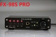 FX-Audio FX-98S Sound-Effekt EQ-Prozessor PRO verbesserte Version des USB-Decoders DAC PCM2704 MAX9722 + Kopfhörerverstärker