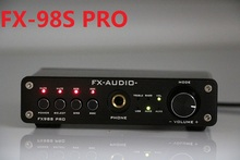 FX-Audio FX-98S sound effect EQ processor PRO upgraded version of the USB decoder DAC PCM2704 MAX9722+headphone amplifier bravo audio v3 eq equalizer tube headphone amplifier