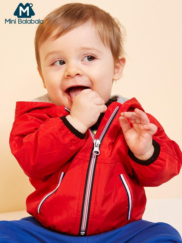 Mini Balabala Babys À Capuche Veste Nouveau-Né Infantile Bébé Garçons sweat à capuche avec fermeture éclair Veste À Capuche Printemps Automne vêtements d'extérieur Vêtements