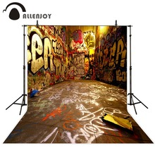 free shipping 5ft*7ft(150cm*215cm) photography backdrops graffiti street  Hip-Hop photography background