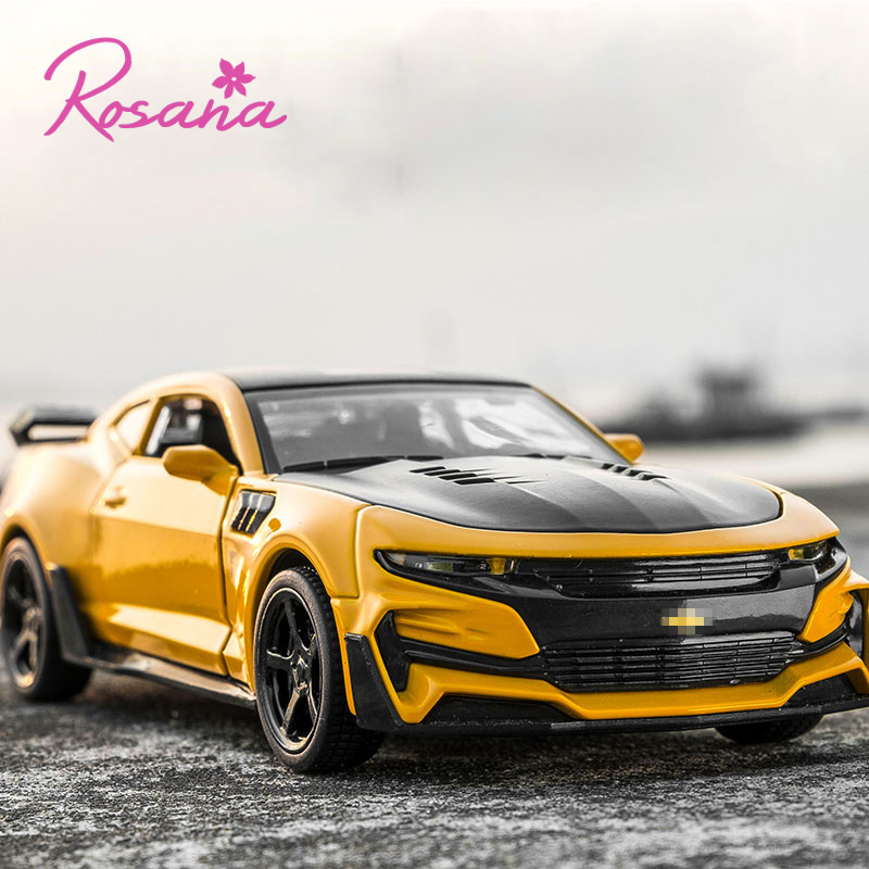 Rosana Hot Sale 1/32 Fast Furious Diecast & Toy Vehicles Pull Back Chevrolet Camaro Mini Car Model Car For Child Gift Toys