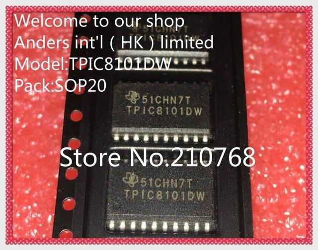 50pcs/lot       TPIC8101DW      TPIC8101           SOP20
