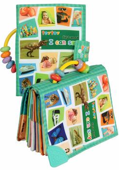 Teytoy zabawka dla dziecka miękka aktywność dla niemowląt zabawka dla dziecka s moja pierwsza książka słowna do poznania świata tanie i dobre opinie CN (pochodzenie) 5-7 lat Urodzenia ~ 24 Miesięcy 2-4 lat USA certyfikat (UL) TT01
