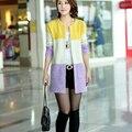 Nova Primavera Inverno Tricotado Mohair Cardigans Cardigans Mulheres Moda Casual Longo Cardigan Mulheres Baratos Blusas Para Senhoras