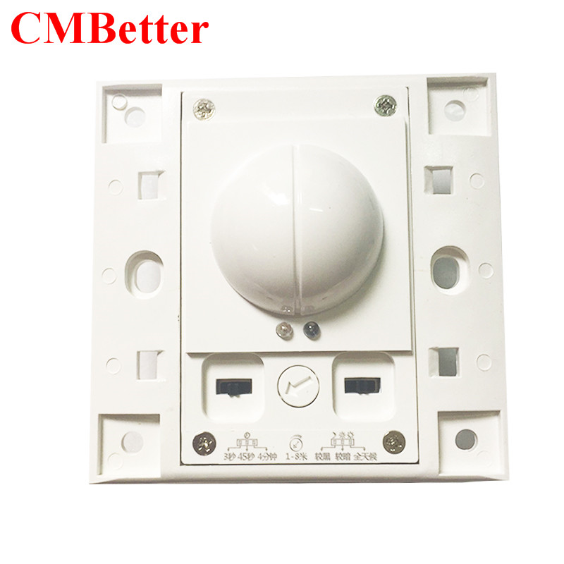 CMBetter 220V~240V Microwave Radar Infrared Body Motion Sensor Detector Light Switch Auto Ceiling Mounted For LED Lamps freeshipping 5 8ghz hf systerm led microwave 360 degree radar sensor light switch ceiling light occupancy body motion detector