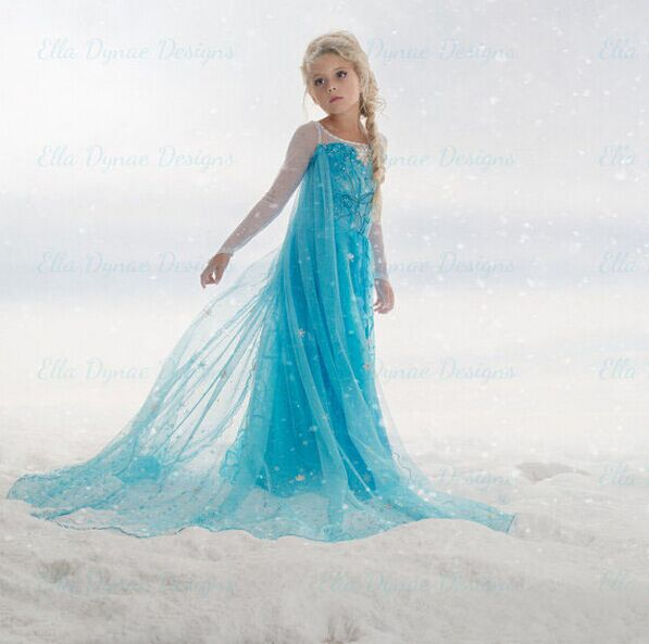 Baby S Elsa Anna Party Dress Kids Ice Princess Children Clothing Clothes Cosplay Costume On Aliexpress Alibaba Group
