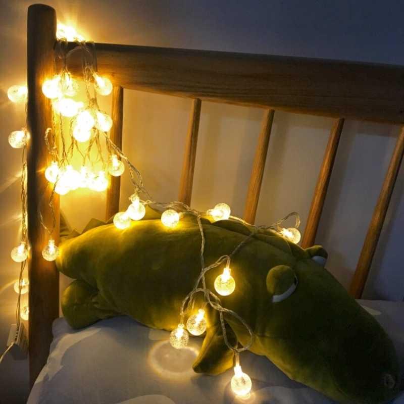 Бренд gzmj 10 м медный провод светодиодный светильник на веревке водонепроницаемый праздничный свет для рождественской елки Свадебная вечеринка 110-240 в 100 светодиодный Сказочный свет