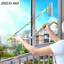 Горячая модернизированная телескопическая высотная оконная щетка для очистки стекла щетка для мытья окна пыль домашняя щетка для чистки инструментов