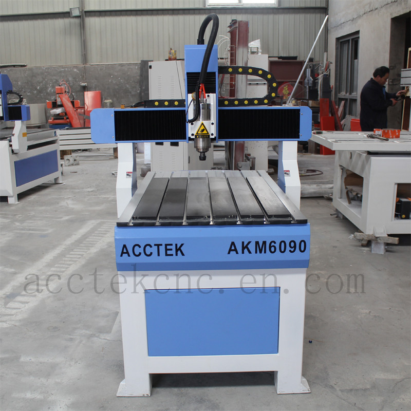 cnc kit 4 axis step motors plastic sheet cutting tools T-slot table gantry moving 0609 cnc router machine mini cnc router rtm 6090 with t slot vacuum table