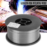 1Pc 1kg 0.8/0.9/1.0/1.2mm Gasless Mig Welding Wire E71T GS A5.20 Flux Cored Welding Wire Without Gas For Mig Welder Steel Tool