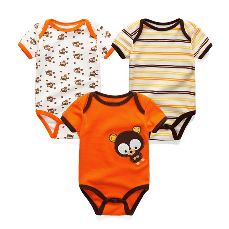 3PCSLOT-Newborn-Girl-Boy-Baby-Clothes-High-Quality-Cute-100Cotton-Short-Sleeve-Baby-Rompers-Roupas-de-bebe-Infantil-Costumes-5